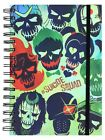 Suicide Squad Skulls A5 Wiro Notebook