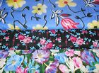 CLEARANCE FLOWER  FABRICS Sold INDIVIDUALLY NOT AS  GROUP By the HALF YARD