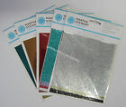 New Martha Stewart - Foil & Glitter Transfer Sheets - Select Your Style