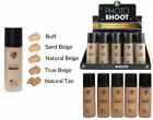 W7 PHOTO SHOOT 16 hour Budge Proof Foundation Various Shades