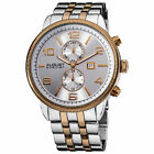 Men's August Steiner AS8069 Swiss Quartz Multifunction Coin Edge Bezel Watch