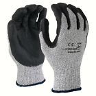 SDI 1 Pairs 13 Gauge HPPE Cut Resistant Liner Advance Foam Nitrile Coated Glove