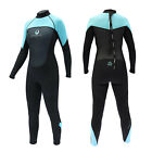 Legacy 3/2mm Womens Full Wetsuit Surf Ladies Steamer Swim Long Wet Suit XS-L <br/> RRP &pound;59.95 - SAVE &pound;25 | SUPER STRETCH NEOPRENE