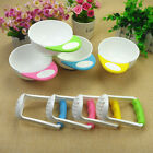 Baby Infant Learn Dishes Grinding Bowl Kids Handmade Grinding Food Mill 2PCS Set