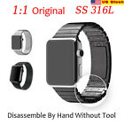 316L Stainless Steel Watchband Strap 1:1 Original Band For Apple Watch US Stock