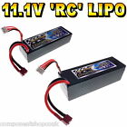 11.1V 4500mAh - 6500mAh 3s LiPo Hard Case RC Car Battery 65/130C Giant Power