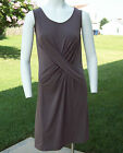 Simply Vera Wang Sleeveless Versatile Solid Taupe Knee-Length Sheath Dress