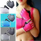 Fitness Weight Lifting Gym Gloves Nylon Workout Training Men Women Wrist Support