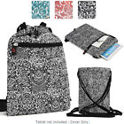 10 inch Tablet Paisley Protective Drawstring Backpack Case Cover BG10P2-1