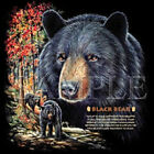 Black Bear T-Shirt All Sizes And Colors (3014)