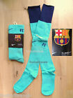 MEDIUM UK Foot 2.5-7 BARCELONA NIKE AWAY SOCKS football soccer mens youth 2011