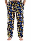Harvey James Mens Printed Fleece Lounge Pants Pyjama Bottoms Pijama Trouser