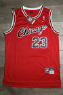 Michael Jordan Jersey #23 Chicago Bulls Hardwood Classics Rookie Road Retro Red on eBay