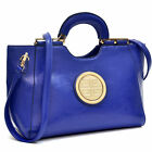 Dasein Loop Handle Collections Faux Leather/Croco/Oily Leather Shoulder Bag