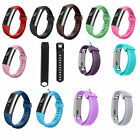 Z Sport Silicone Rubber Replacement Wrist Band Strap For Fitbit Alta Watch S / L