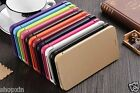 Ultra Slim Stylish Flip Snap On PU Leather Back Case Cover For Meizu Mobiles