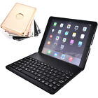 7 Color LED Backlit  Aluminum Bluetooth Keyboard Case Cover for iPad Pro 9.7''