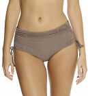 Fantasie Swimwear Lombok Adjustable Bikini Short 6011 Truffle Brown