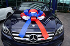 Big Car Bow | Magnetic Back, Vinyl, No Scratch, Many Colors | 2.5 Feet (30in.)