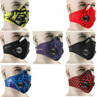 activated carbon face mask - RockBros Face Mask Mouth Muffle Filter Activated Carbon Anti-dust Haze Mask