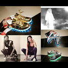 Unisex Chic LED Lights Lace Up USB Rechargeable Luminous Casual Shoes Sneakers