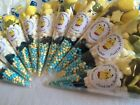 **Large POKEMON themed sweet cones,party bags,pre filled *PERSONALISED*