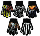 Boy's Magic Gloves Funky Gripper Designs Kids Boys Winter Warm One Size