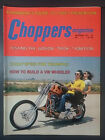 1974 NOVEMBER CHOPPERS MAGAZINE MOTORCYCLE HARLEY CUSTOM HONDA 750 TRIUMPH VW $19.95 USD