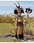 Girl Tribal Queen Theme Party Dress Up Pretend Complete Halloween Costume Size 6