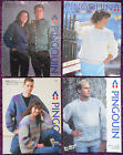 Pingouin Knitting Patterns Sweaters & Cardigans - Choose from Drop-down Menu