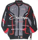 Dodge Challenger Racing Cotton Jacket New JH Design Black