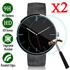 2Pcs 9H+ Tempered Glass Screen Protector For Motorola Moto 360 1st 2nd 42mm/46mm