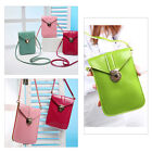New Mini Shoulder Bag Leather Wallet Purse Coin Cell Phone Case Mobile Pouch Bag