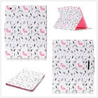 New Flip Beautiful flamingo Stand Leather Cover house case for various tablet