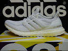 NEW ADIDAS Ultra Boost Men's Running Shoes - White/White;  AQ5929