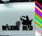 Daryl Dixon Walking Dead Motorcycle Vinyl Car/Laptop/Window/Wall Decal Sticker