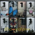Butterfly Retro Eiffel Tower TIger back hard Case cover for LG L Fino D295 D290N