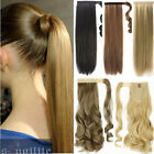 Long Layered Ponytail Clip-On Hair Piece Extension wrap around Pony Tail  LA01