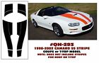GE-QH-293 1998-02 CHEVY CAMARO SS - COUPE OR T-TOP - STRIPE KIT - NO ROOF