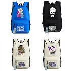 Suicide Squad Message Backpack Laptop bag Travelling School Bag New/wtag