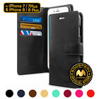 GOOSPERY® Blue Moon Diary Flip Cover Wallet Case for Apple iPhone 7 / 7 Plus