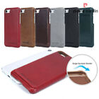 Pierre Cardin Real Genuine Leather Back Skin Case Cover For Apple iPhone 7