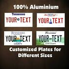 Tennessee Car Auto OR Motorcycle Custom Personalized License Plates