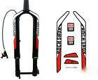ROCK SHOX RS-1 Mountain Bike front Fork Decals For MTB bicycle DH Race Stickers
