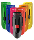 New Genuine SanDisk Cruzer Glide 16GB USB 2.0 Flash Memory Pen Drive Stick