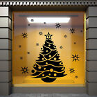 CRISTMAS TREE WALL STICKERS Christmas SHOP WINDOW DECORATION STICKERS  S27