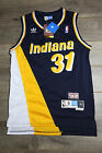 Reggie Miller 31 Indiana Pacers Jersey Throwback Vintage Classic Yellow Black