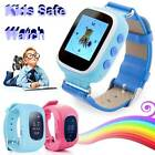 Q50 Safe Tracker Kid Smart Wristwatch SOS Call GPS Tracking Device Support SIM