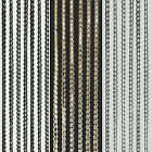 Sparkle String Window Door Curtains Net Panel Room Divider Tassle Fly Screen