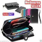iPhone 4 / 5 / 5C 6 / 6S 7 / 7S Plus Case All in One Zip Purse Leather Cover